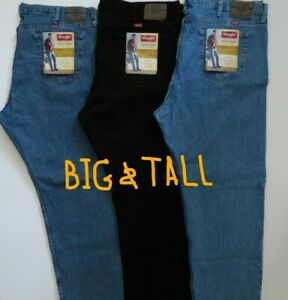 Wrangler 5 Star Relaxed Fit Jean Men's - Size Big and Tall