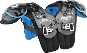 Sports Unlimited Prospect Youth Football Shoulder Pads New