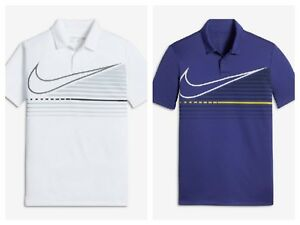 NEW NWT boys youth NIKE Golf dri fit polo shirt top pick sizecolor S M L XL