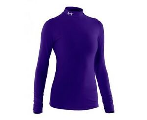 (X-Large Pluto) - Under Armour CG Compression Mock Women's Shirt. Brand New