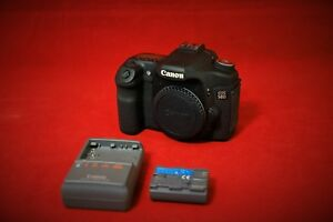 Canon EOS 50D 15.1MP DSLR Camera - Black (Body Only)