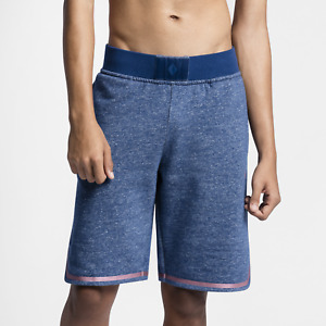 Nike NikeLab x Pigalle Men's Shorts 2XL Blue Red Gym Casual Training Running New