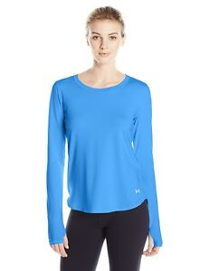 (X-Small Water) - Under Armour Women's Running Langarm Fly by Long Sleeve Shirt
