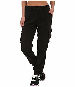 Under Armour Woven Cargo Pant - Women's Black  Black  Reflective Large