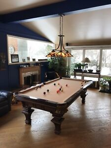 Renaissance Custom Original pool table by Charles A. Porter