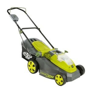 Cordless Push Lawn Mower 40-Volt Brushless Motor Outdoor 16-in. Grass Cutter