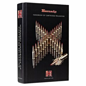 Hornady 10th Edition Handbook Cartridge Reloading Bullet Shooting Charts Data