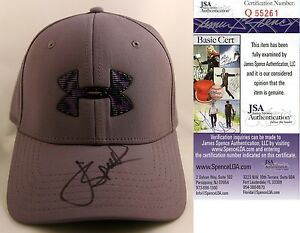 Masters Champion Jordan Spieth Signed Under Armour Hat JSA AUthenticated COA