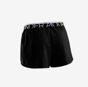(X-Small BlackWhite) - Under Armour Play Up Multisports Women's Shorts