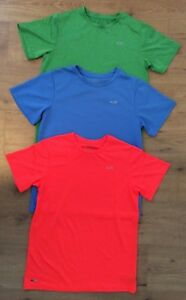 Lot of 3 C9 Champion Youth XL 16-18 Dry Fit Short Sleeve Shirt Blue Green Orange