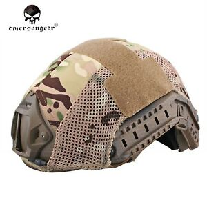 EMERSON Helmet Cover Tactical Protective Military Hunting  Helmet Accessories