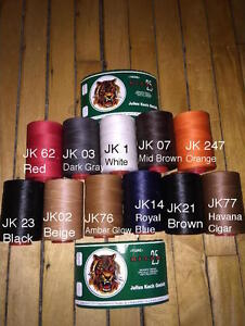 US SELLER Julius Koch 1mm Ritza 25 Tiger Thread for Leather Sewing 25m 82.02ft $7.99