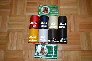 US SELLER Julius Koch 1.2mm Ritza 25 Tiger Thread for Leather Sewing 25m 82.02ft $7.99