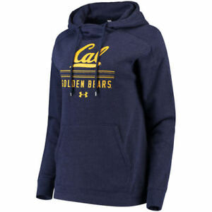 Under Armour Cal Bears Women's Navy Sport Style Tri-Blend Pullover Hoodie