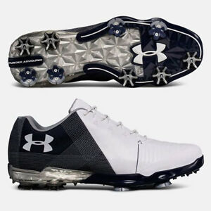 UNDER ARMOUR 2018 MEN'S SPIETH 2 GOLF SHOES SIZE: 12 WHITEACADEMY NEW!! 18771
