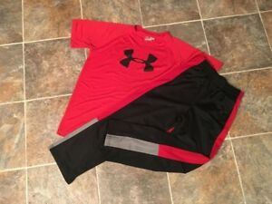 29PC. Under Armour Nike Champion Shirts Shorts Pants Lot Boys Youth sz LXL