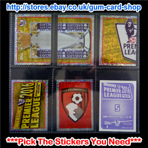Merlin's Premier League 2016 (1 to 99) *Select the Stickers You Need*