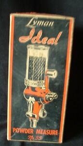 Vintage Ideal No. 55 Powder Measure - with box and in great shape