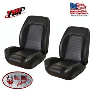 Sport R FrontRear Upholstery for 1967-68 Camaro Coupe wFolding Rear Seat TMI