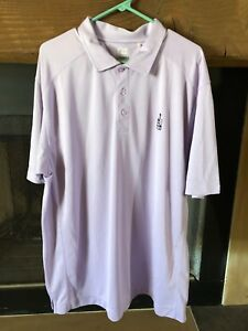 Cutter & Buck Purple Drytec Mens Size Extra Large Polo Rugby Shirt