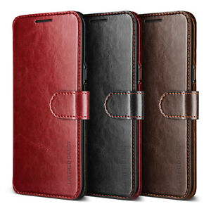 For Samsung Galaxy S8/S8 Plus Case VRS®[Layered Dandy] Slim Leather Wallet Cover