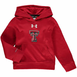 Under Armour Texas Tech Red Raiders Youth Red Armour Fleece Pullover Hoodie