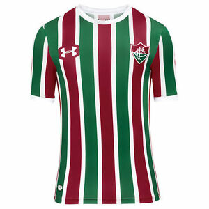 Fluminense Home Soccer Football Jersey Shirt - 2017 2018 Under Armour