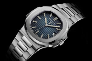 Patek Philippe Nautilus 57111A-010 Stainless Steel Blue Dial 40mm Automatic