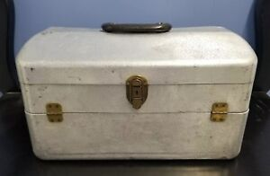 Vintage MY BUDDY TACKLEMASTER Aluminum 4 TRAY Fishing Tackle Box Orig. Own EXC