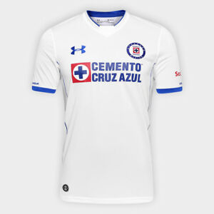 Cruz Azul Away Soccer Football Jersey Shirt - 2017 Under Armour Mexico