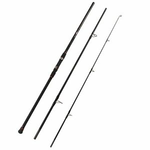 Fiblink Surf Spinning Fishing Rod 3-Piece Carbon Travel Rod Portable Spin Rod 9