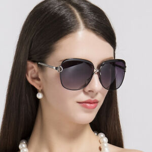 Vintage Sunglasses Women Oversized Polarized Fashion Classic Driving Big Glasses