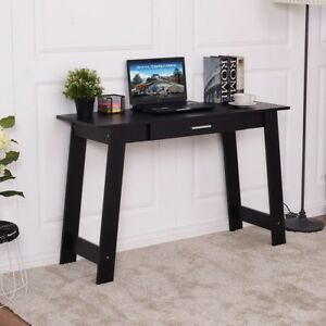 Home Room Computer Desk PC Laptop Table Wood Workstation with Drawer Furniture