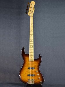 Combat JB Quilt Electric Bass Guitar (Used)