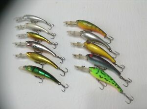 11Cotton Cordell Wally Divers Crankbait Sweet Colour Fishing Lure Tackle Find.