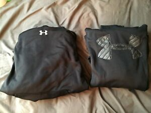 Two Under Armour Hoodie's in Black Men's XL Gently used