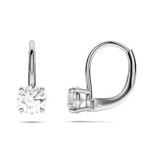 Charming Earrings Sets 2.00 CTW Round cut Diamond Gia certified 14K White Gold