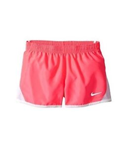 NIKE Girls Dry Tempo Running Shorts (Racer Pink (322139-A4F)WhiteReflective6