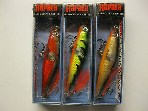 Rapala Clackin' Minnow CNM-7 Fishing Lures 3 Colors