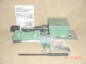 RCBS Trim Pro power case trimmer kit new.Works for Oihers DillonHornady.Lyman