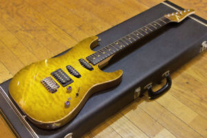 TOM ANDERSON '03 S-Style Drop Top with Binding Electric Guitar (Used)