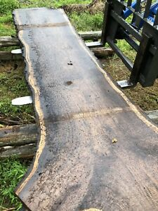 Large black walnut live edge slabs whole bouleflitch