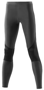 (XLH Graphite Grey) - Skins RY400 Women's Recovery Compression Running Tights