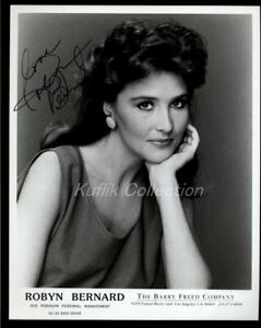 Robyn Bernard Signed Autograph Headshot Photo Actress General Hospital $19.99