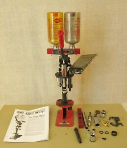 MEC 600 Jr. SHOTSHELL RELOADING PRESS +12 & 20ga. SINGLE STAGE+AUTO-PRIME FEED