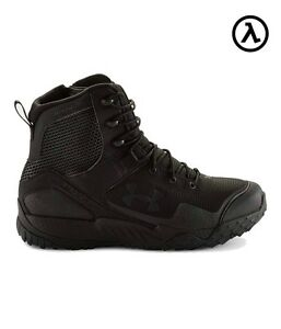 UNDER ARMOUR UA VALSETZ 1.5 RTS TACTICAL BOOTS WIDE - 4E 3021035  BLACK (001)