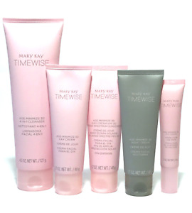 MARY KAY 3D TIMEWISE AGE MINIMIZE YOU CHOOSE SKIN CLEANSER DAY NIGHT EYE CREAM $15.94