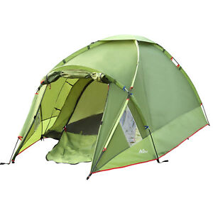 MoKo Waterproof Family Camping Tent 3 Person 4 Season Winter Backpacking Tent