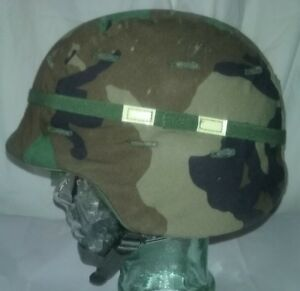 U.S. Army Made With Kevlar PASGT Helmet Size Medium Clean