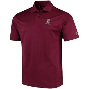 Under Armour TPC Twin Cities Maroon Performance Polo